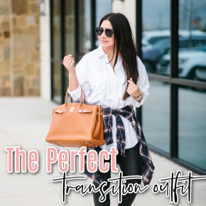 the perfect transition outfit