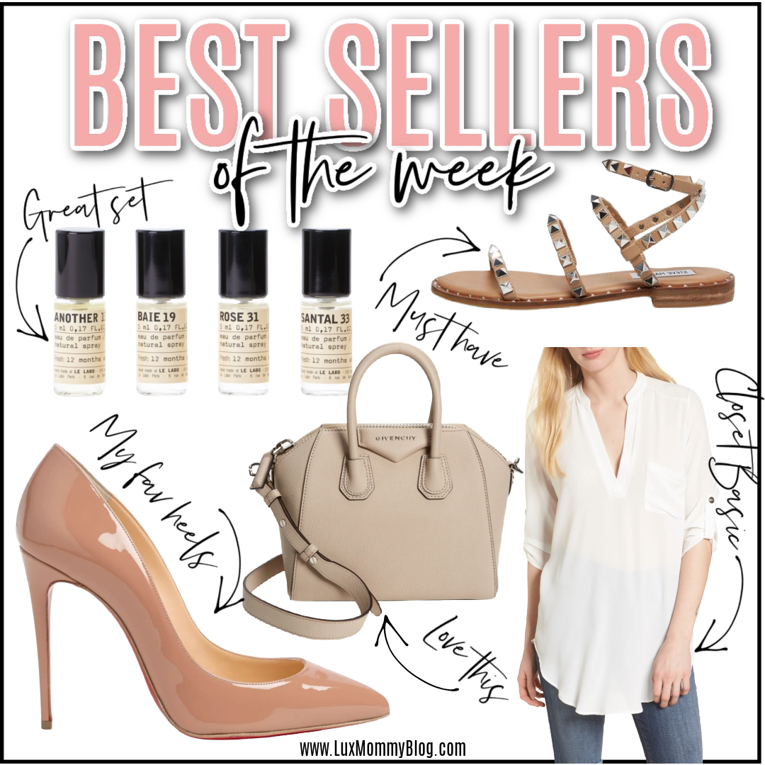 houston blogger LuxMommy shares the best sellers of the week
