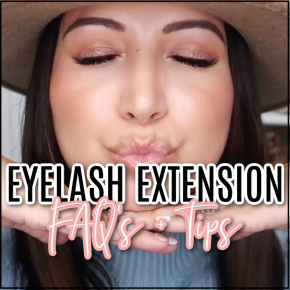 Houston top fashion blogger LuxMommy shares eyelash extension tips and tricks