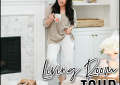 Houston top fashion blogger LuxMommy shares her living room tour