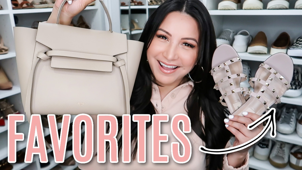 Houston top fashion and lifestyle blogger LuxMommy sharing favorites in YouTube Video