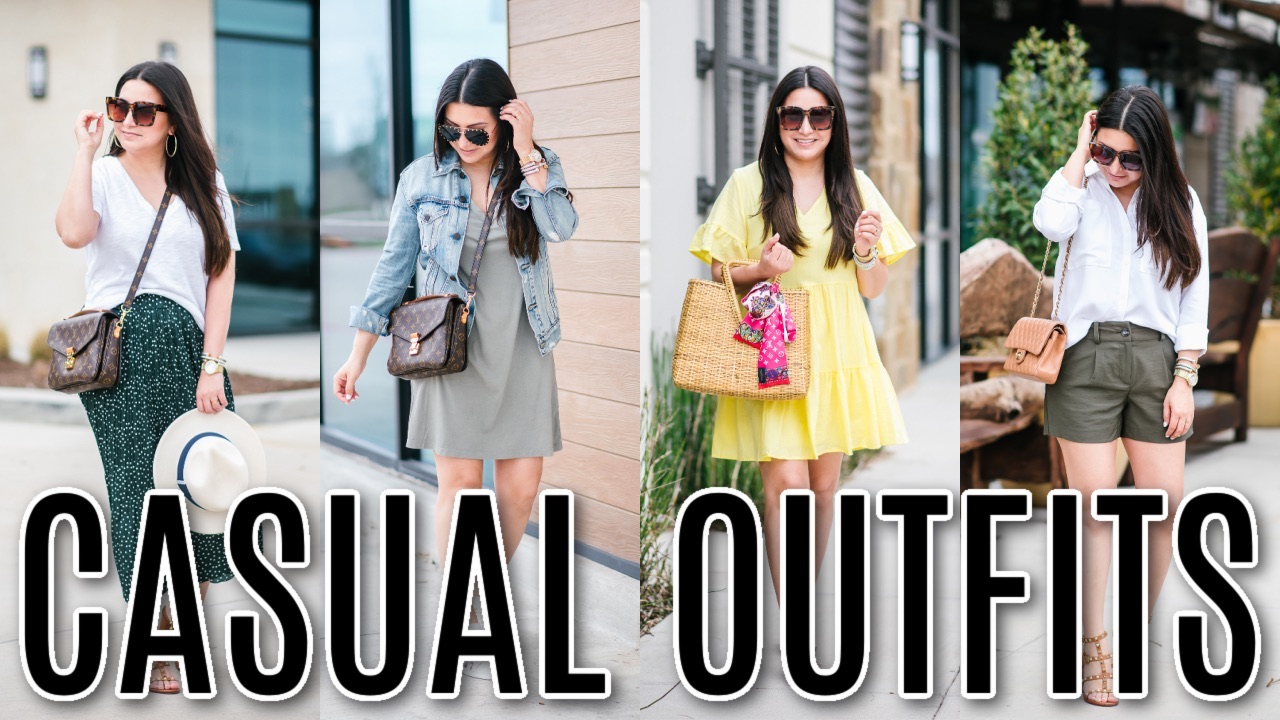 Houston top fashion blogger LuxMommy sharing causal outfits on YouTube