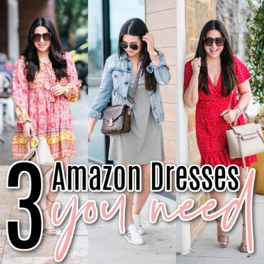 Houston top fashion blogger Luxmommy shares 3 Amazon dresses you need