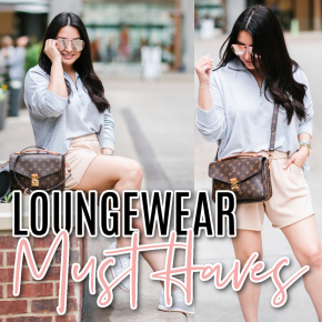 Houston top fashion and lifestyle blogger LuxMommy shares the top loungewear must haves