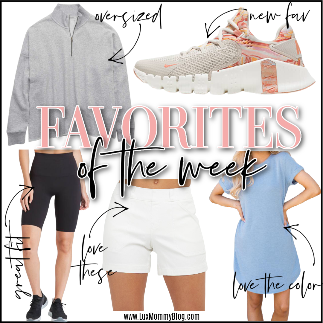 Houston top fashion and lifestyle blogger LuxMommy sharing favorites of the week