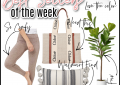 Houston top fashion and lifestyle blogger LuxMommy sharing best sellers and weekly recap