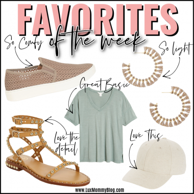 Houston top fashion blogger luxmommy sharing favorites of the week