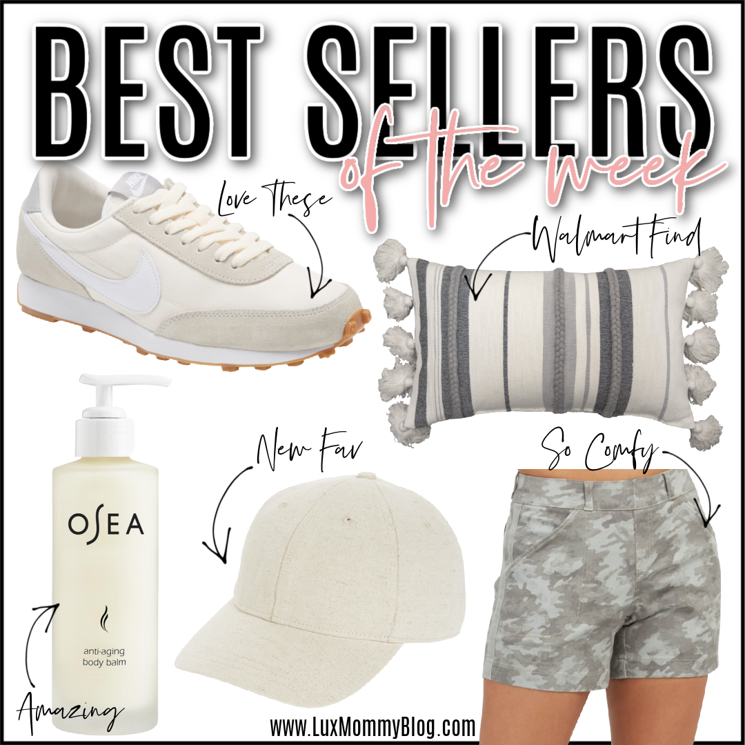 Houston lifestyle and fashion blogger LuxMommy shares best sellers of the week