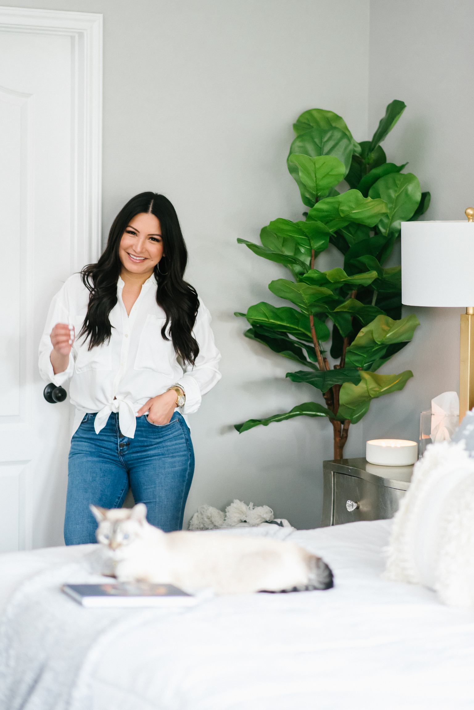 Houston top fashion and lifestyle blogger LuxMommy shares Affordable Bedroom Refresh