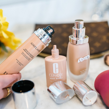 my top 3 foundations