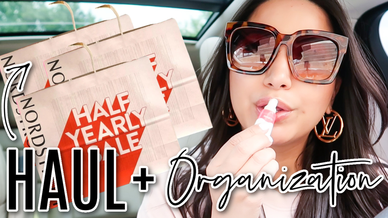 Houston lifestyle and fashion blogger LuxMommy sharing a clothing haul and new organization