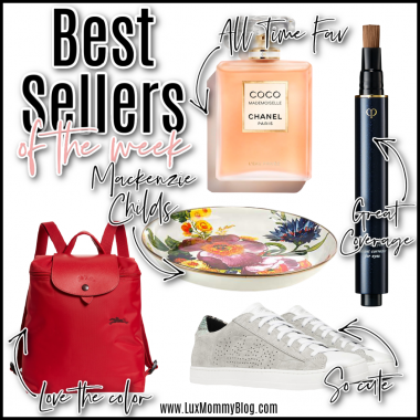 Houston lifestyle and fashion blogger LuxMommy sharing best sellers of the week