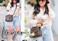 Houston top fashion blogger LuxMommy shares her favorite longer denim shorts