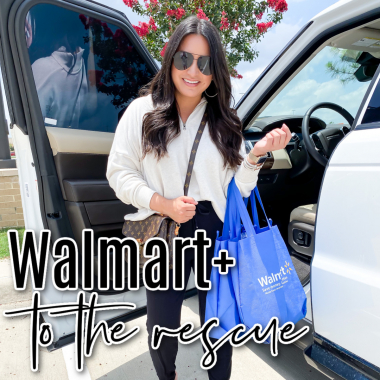 Houston top lifestyle blogger LuxMommy shares her favorite membership and why walmart+ to the rescue