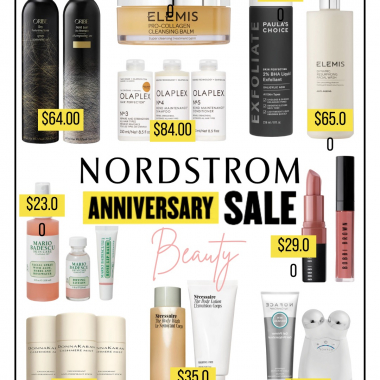 Nordstrom anniversary sale beauty