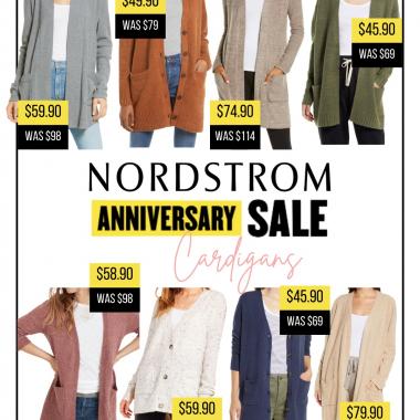 Nordstrom anniversary sale cardigan picks