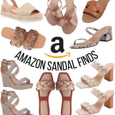 Amazon Sandal Finds