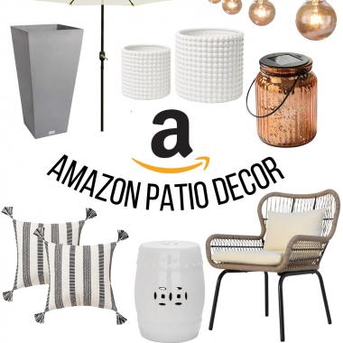 Amazon patio decor