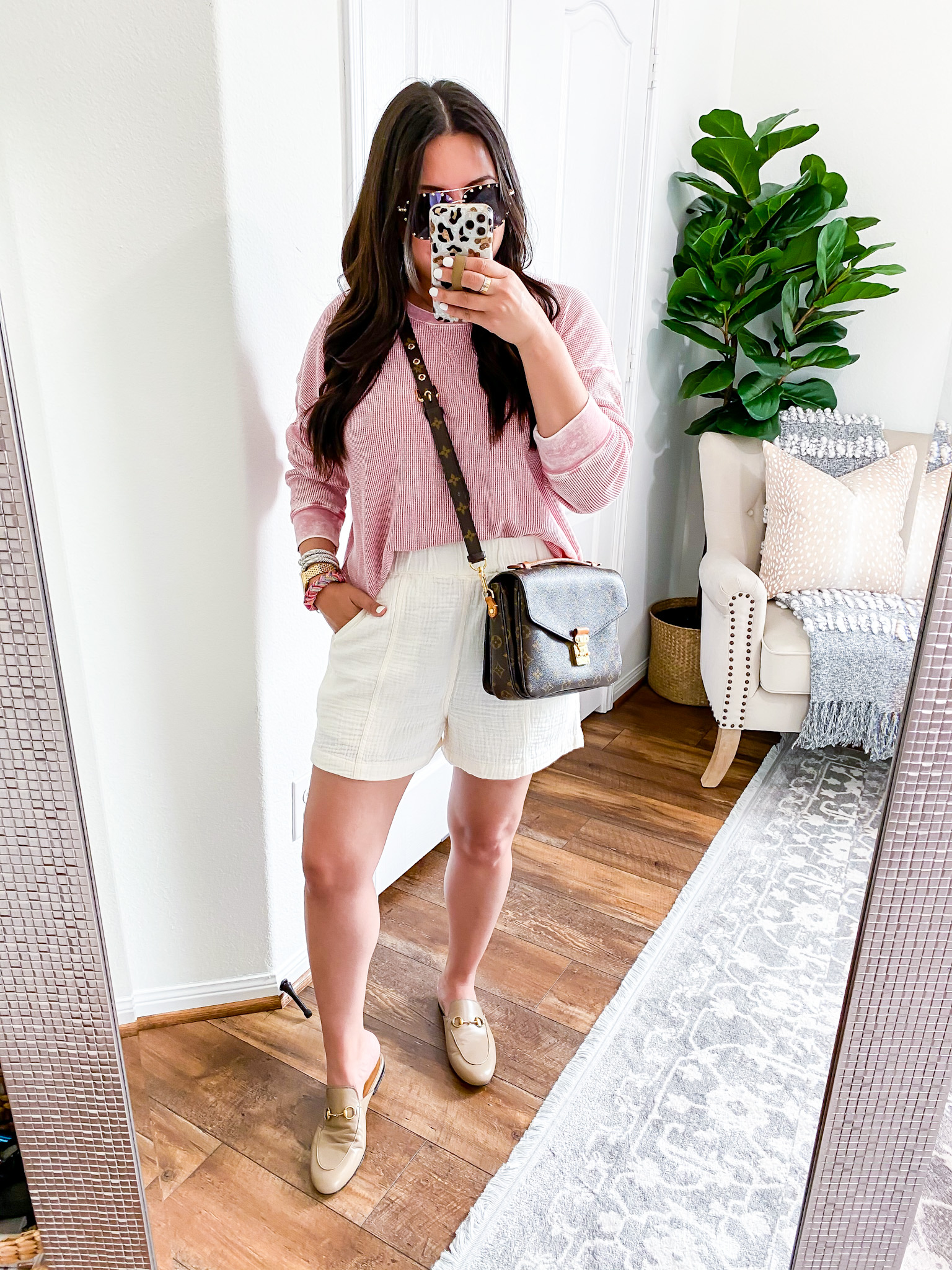 Houston lifestyle and fashion blogger LuxMommy sharing outfits of the day