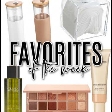 Houston lifestyle and fashion blogger LuxMommy sharing the favorites of the week
