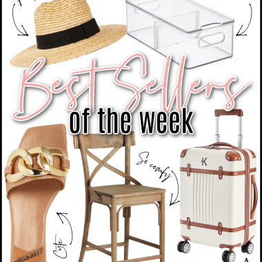 Houston lifestyle and fashion blogger LuxMommy sharing the best sellers of the week