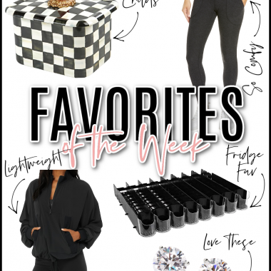 Houston lifestyle and fashion blogger LuxMommy sharing her favorites of the week