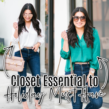 closet essential to holiday must have