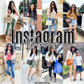 Houston lifestyle and fashion blogger LuxMommy sharing Instagram Roundup