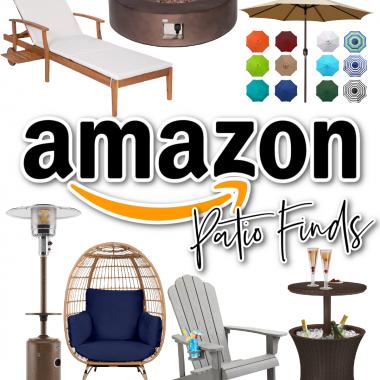 Houston lifestyle and fashion blogger LuxMommy sharing Amazon Patio Finds