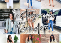 houston lifestyle and fashion blogger LuxMommy sharing outfits from July posted on instagram