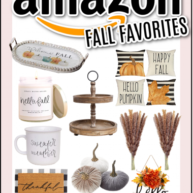 Houston lifestyle and fashion blogger LuxMommy sharing her Amazon Fall Favorites
